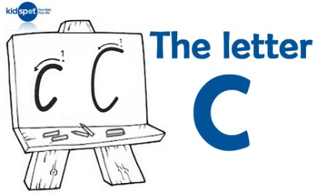 How to write: The letter c