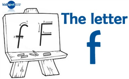How to write: The letter f