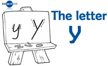 How to write: The letter y