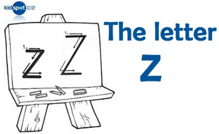 How to write: The letter z