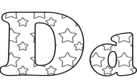 Learning ABC: The letter D