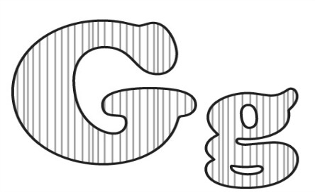 Learning ABC: The letter G