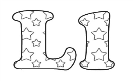 Learning ABC: The letter L