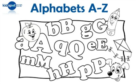 Learning ABC: Alphabet chart