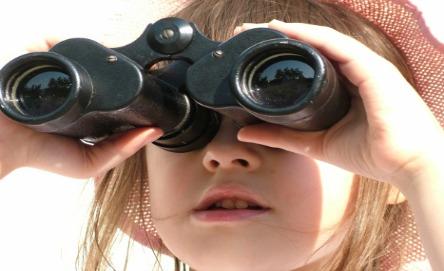 Binocular balance game