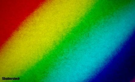 Make rainbow paper