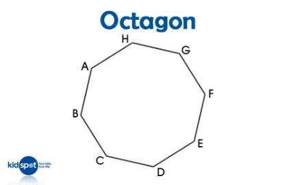 Shapes for kids: Octagons