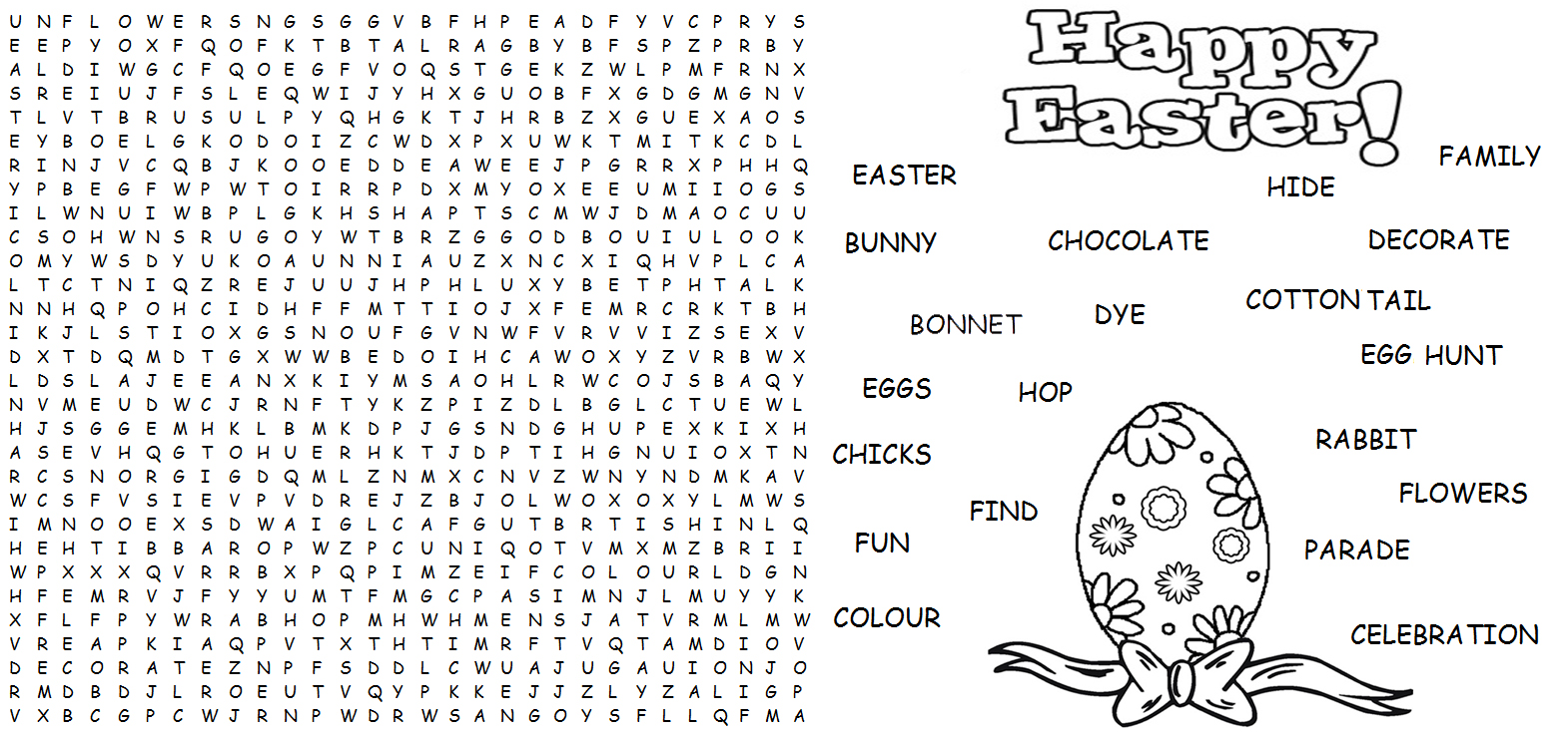Worksheet Difficult Words To Spell For Kids word find easter activities hard