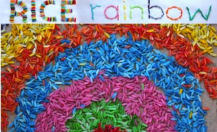 Rice rainbow