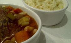 Balsamic lamb casserole