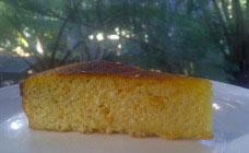 Flourless mandarin cake