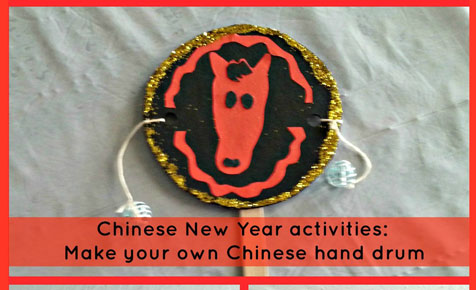 Make your own Chinese drum
