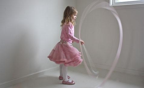 Ballet ribbon wand