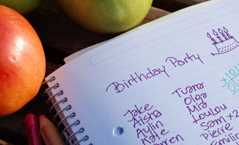 The complete birthday party timeline planner