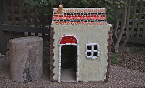 Storybook cubby craft project