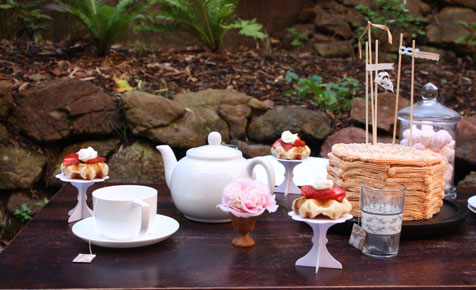 Tea party theme for girls