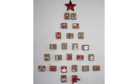 Wall advent Calendar