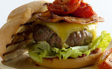 Curtis Stone's homemade burger