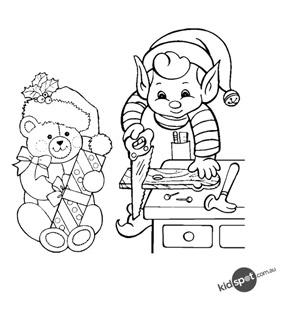 Elf & Teddy
