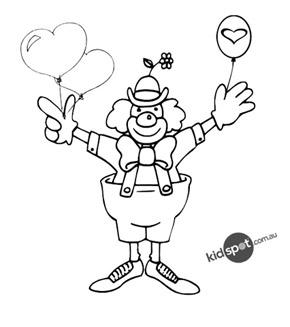 Valentine Clown