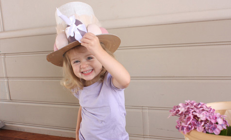 Easter hat parade bonnet