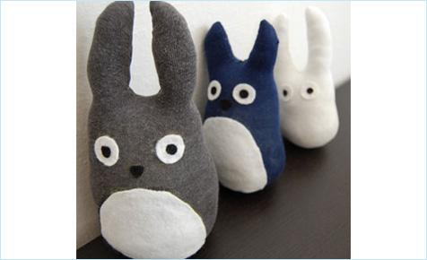 Totoro soft toy