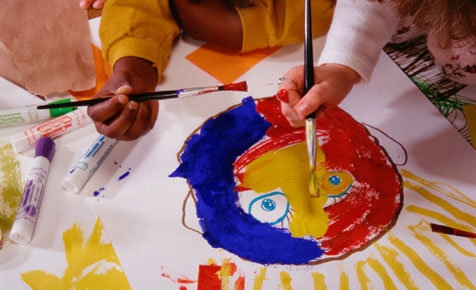 Painting activities for preschoolers