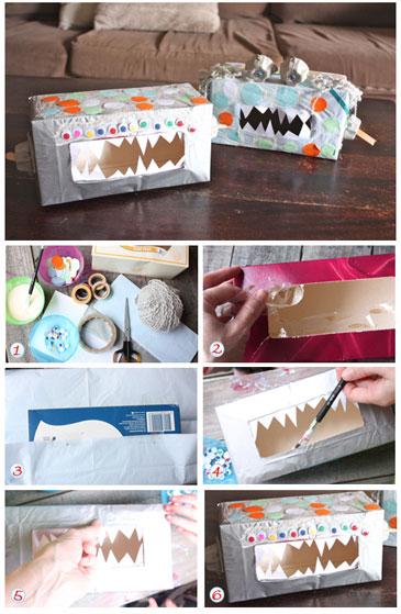 tissue box monster