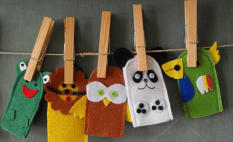 Puppets for toddlers
