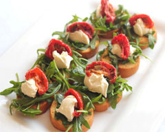 Goat's cheese toasts