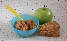 Weet-Bix with apple and cinnamon