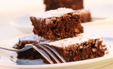 Choc walnut brownie