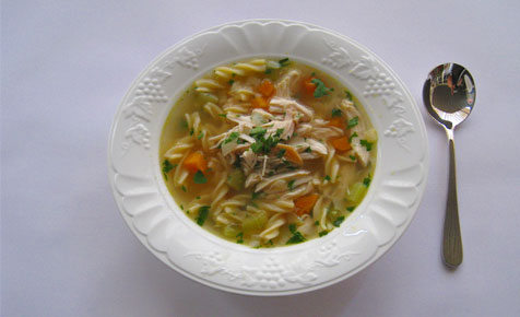 Katie's chicken soup