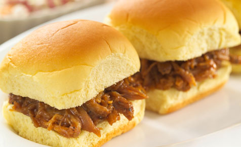 Pulled pork buns