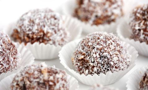 Chocolate rumballs