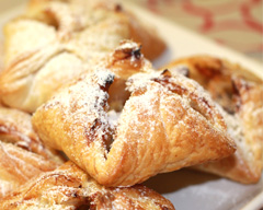 Banana and chocolate parcels recipe