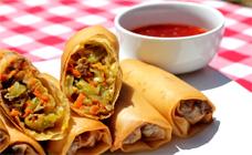 Homemade chiko roll
