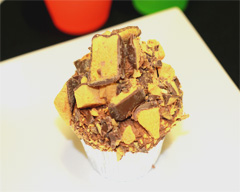 Honeycomb tower cupcakes recipe