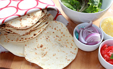 Chapati (Indian flatbread )
