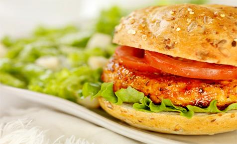 Easy homemade chicken burger recipe