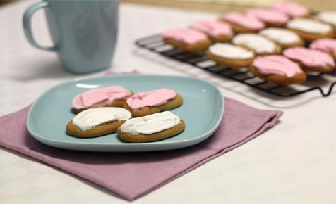 Honey jumble biscuits