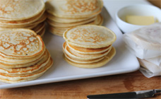 Lunch box pikelets