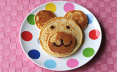 Teddy Bear Pancakes