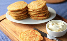 Vegetable pikelets