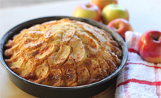 Apple teacake
