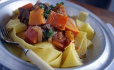 Beef and pumpkin casserole