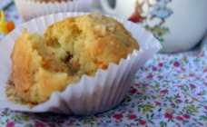 Carrot, oat and orange muffins