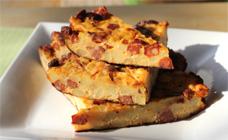 Chorizo and potato frittata