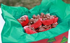 Christmas rocky road bites