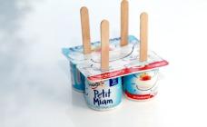 Frozen yoghurt pops
